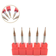 5pcs HRC60 4Flute End Mills 1mm 1.5mm 2mm 2.5mm 3mm 4mm Carbide Flat End Mill Tungsten Spiral CNC Milling Cutter Router Bit Tool 5pcs shank 4mm cel 42mm long cutter spiral bit router tool one flute mdf carving frezer 1lx442