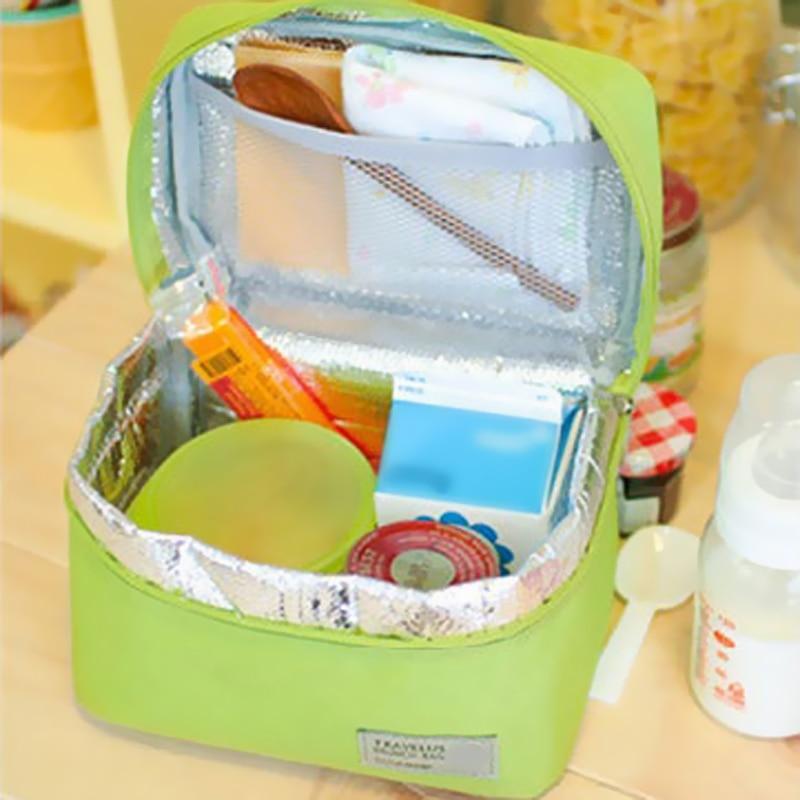 crianças lancheira tote piquenique isolamento Tipo : Lunch Box Bag