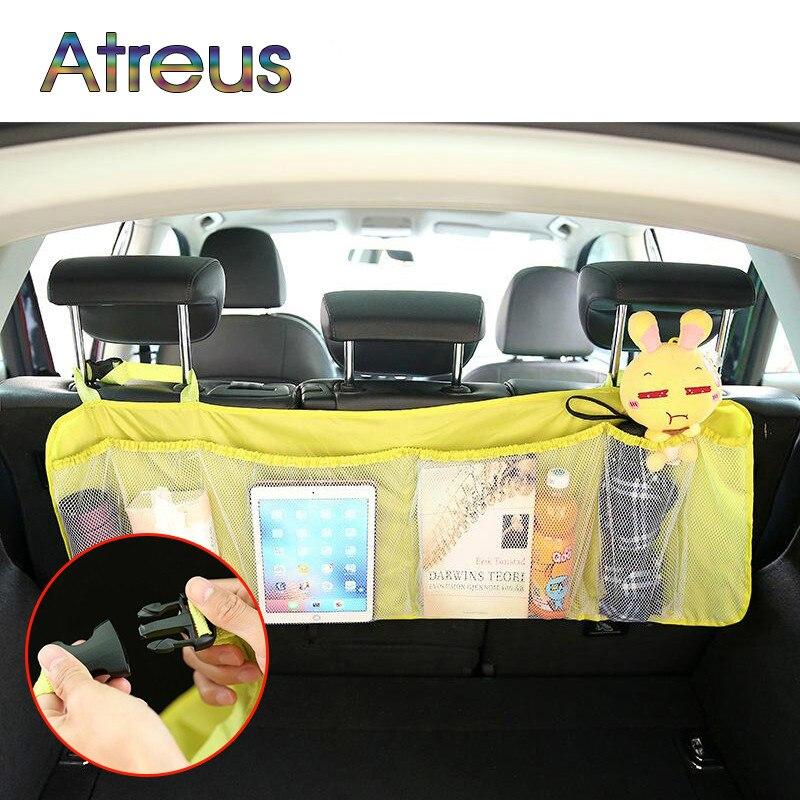 1 Pcs grade pendurados sacos De Armazenamento mala Do Carro Net para Mercedes Benz Classe G GLK W460 W461 BMW X1 X3 X5 E53 E70 X6 E71 Audi Q3 Q5 Q7