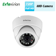 1 Pcs Home HD Security 20M IR Distance AHD Dome infrared Security CCTV Camera OSD Switch 720P/1MP 2 in 1 AHD/CVBS Camera