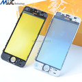 Top Quality LCD Screen Front Outer Glass Lens with Middel Frame Bezel Pre-Installed repair parts for iPhone 5s Glass Replacement
