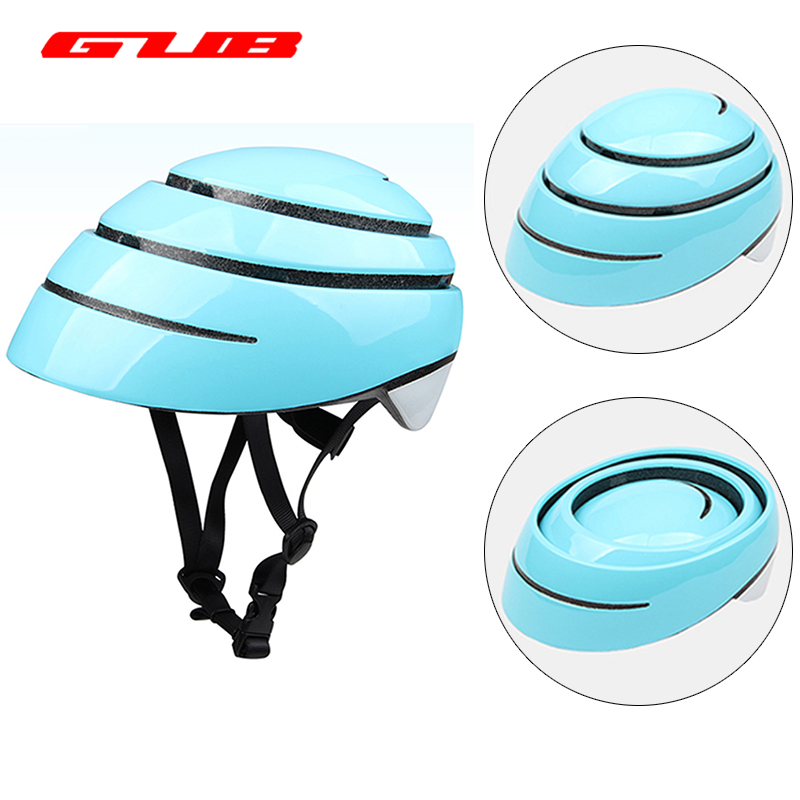 цена на GUB SURO Ultralight Folding City Helmet For Men Women Cycling Road mtb Mountain Bike Equipment Casco Ciclismo Bicycle Helmet