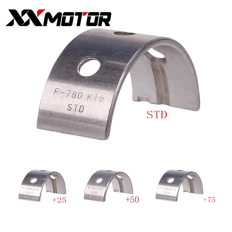 12PCS/Set Engine Main Crankshaft Crank Shaft Bearing For Honda CB400A CB 1 CBR400 NC23 NC29 Motorcycle Accessories Thickness 4MM