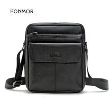 Man Vertical Genuine Leather Bag Men Messenger Business Men's Briefcase Designer Handbags Top Quality Shoulder Bag Male Bao Bao