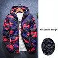Горячие Продажа 2016 Новая Мода Марка Куртка Мужская Одежда Тенденция Колледж Slim Fit Высокого Качества Повседневная Мужская Куртки И Пальто М-4XL