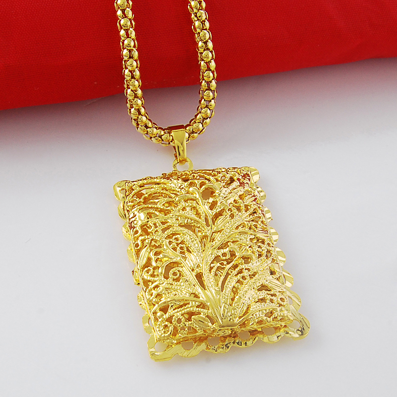 yellow pendants gold show cut dad rectangular s men jewelry solid pendant diamond mens