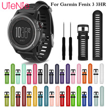 26mm Multi-Color watchband for Fenix 3 Fenix 5X Wide Outdoor Sports Fit Silicone Bracelet for Garmin Fenix 3 HR Watch Band Strap