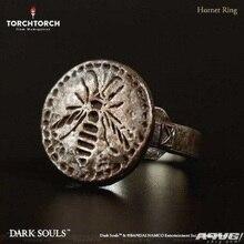 #10 Game Dark Soul 3 Rings Hornet Ring Metal Luxury Weapon Equipment Accessories Souvenir Halloween Party Prop