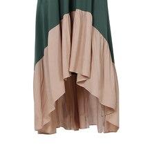 فستان بوهو أنيق بحمالات رفيعة موسم الصيف