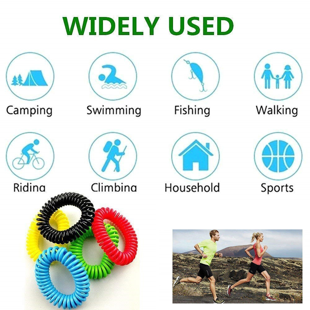 Image 4 - Household 20PCS Mosquito Repellent Bracelets Natural Repellent Wristbands convenient and  practical Household HOT Sale product-in Repellents from Home & Garden