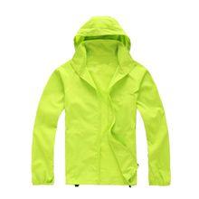 Outdoor Cycling Hooded Outerwear Women Men Sunscreen Jacket Waterproof Summer