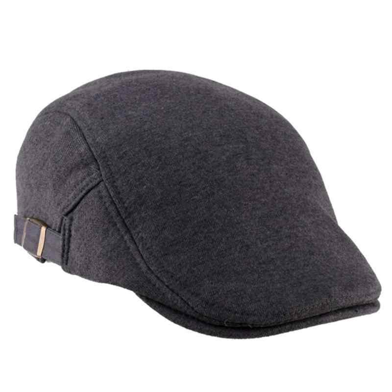 12da1fa0219c4 ... Unisex Man Women Duckbill Visor Artist Ivy Hat Golf Driving Flat  Newsboy Beret peaked Classic Hats ...