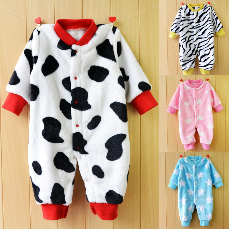2016 baby pajamas romper flannel autumn spring newborn baby clothes Toddler boys & girls Long-sleeve jumpsuit infant babywear newborn baby girls jumpsuit rompers boys clothes romper for infant baby girls pajamas spring autumn long sleeve cotton costumes