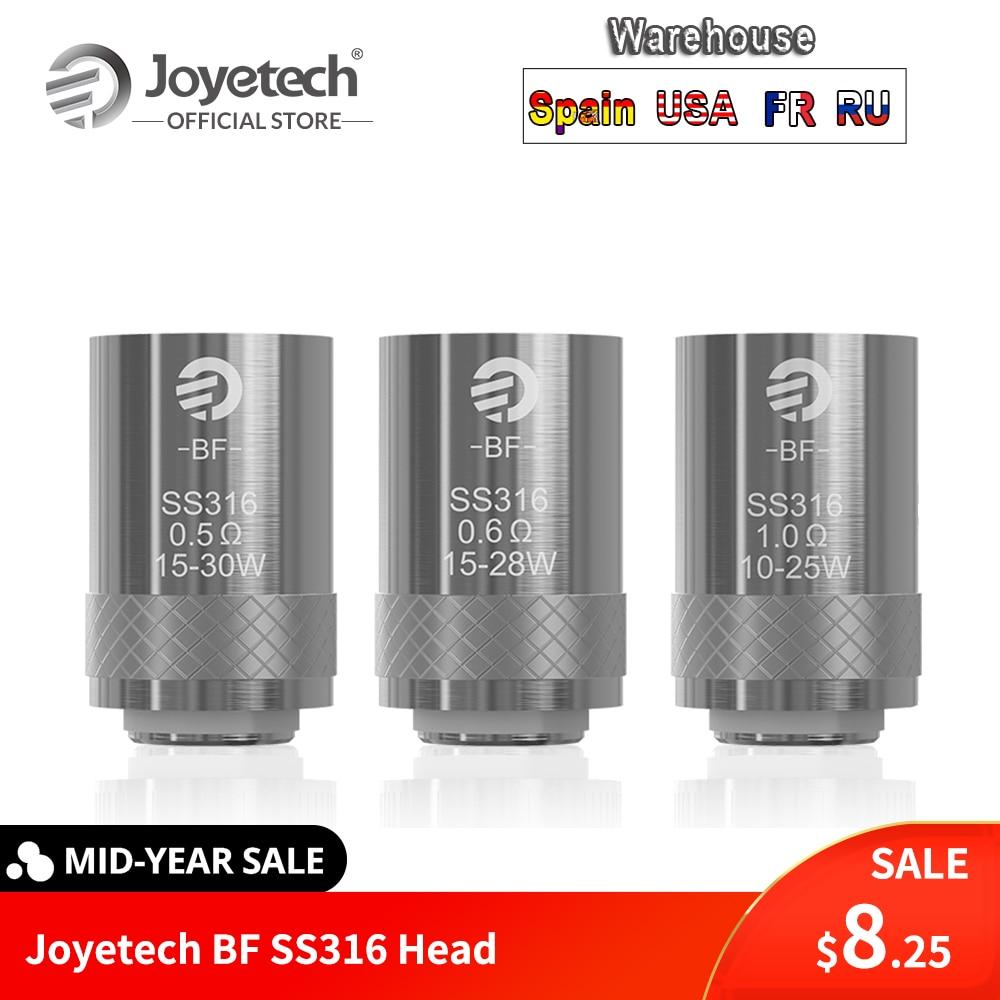 [RU/US/FR/ES] Original Joyetech BF SS316 Kopf 0.5ohm/0.6ohm/1.0ohm Ersatz spule Für CUBIS/eGO AIO/Quader Mini E-Cig
