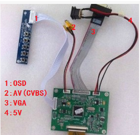 New 3.5 inch PD035VX2 dedicated LCD driver board free shipping видеорегистратор intego vx 410mr