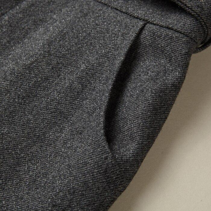 Gris Laine Rétro Xxl Haute Salopette Chaud Slim Barboteuses Pantalon Large Mode Jambe Taille Femmes Combinaisons Hiver De Dames UqIRTn0wTa