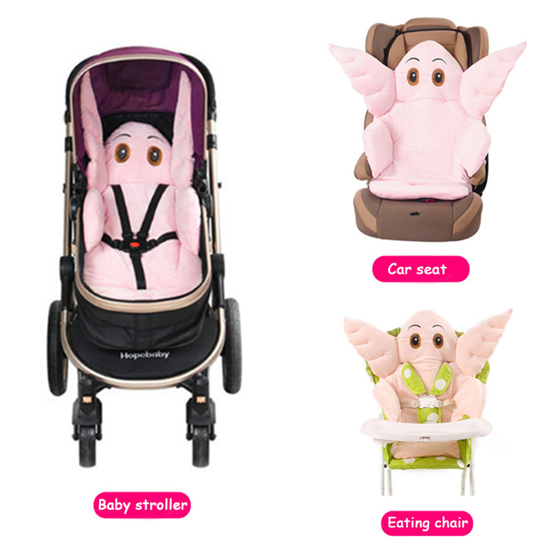 Baby Stroller Seat Cushion Lovely Cartoon Elephant Thicken Pad Universal Dining Chair Car Mat