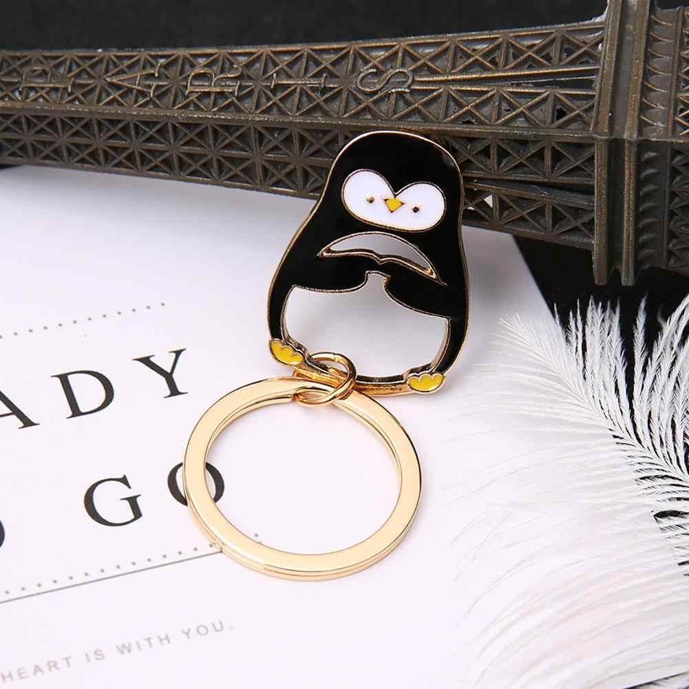 Полярный медведь Пингвин роза цветок кулон брелок держатель сумка телефон Декор Новый