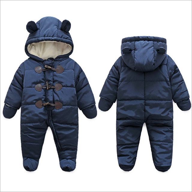 2ed20c898 Online Shop 2018 baby winter clothes thicken cotton romper outwear ...