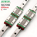 100% HIWIN 9 CNC Guide Rail Set, Stainless Steel MGN9 600mm mini Linear Slide Rail + Blocks MGN9H