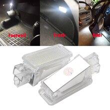 12V Car LED Courtesy Door Projector Light For Audi A3 A4 A6 VW Skoda Foot Nest