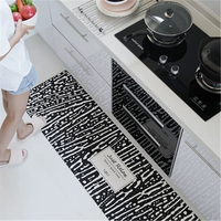 2019 Nordic strip absorbent kitchen floor mat is waterproof for household use mat