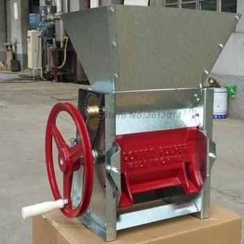 Café fresco pulper huller café grano de cacao máquina de pelar