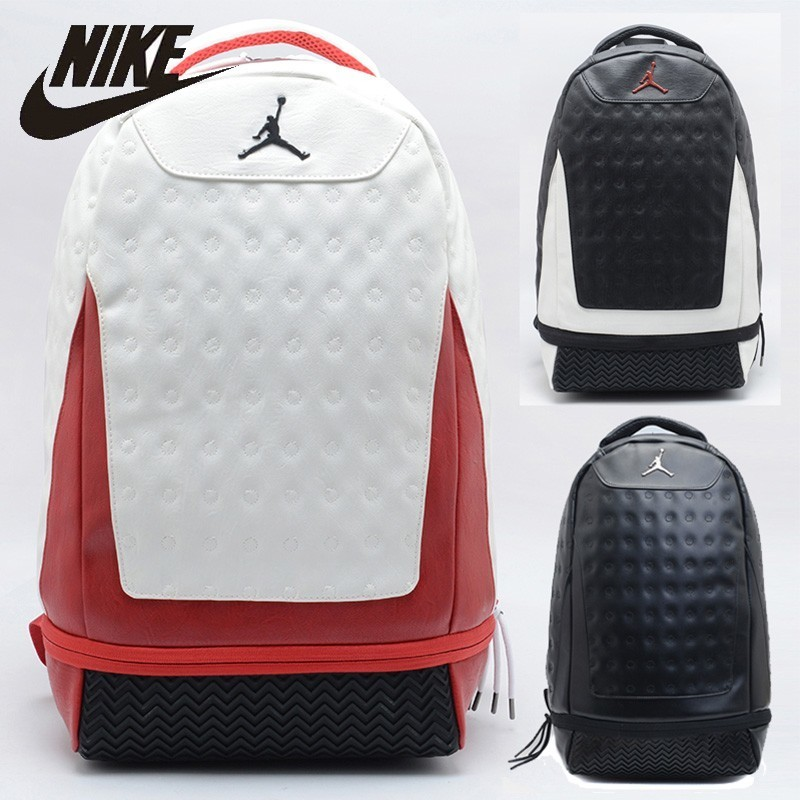 Nike Ari Jordan Hiking Bag Large Capacity Training Bag Fashion School Bag AJ11