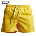 Tqqt mens shorts boxer shorts cintura elástico de secado rápido ocasionales gimnasios corto suelta transpirable más tamaño pone en cortocircuito 6 colores 5p0462