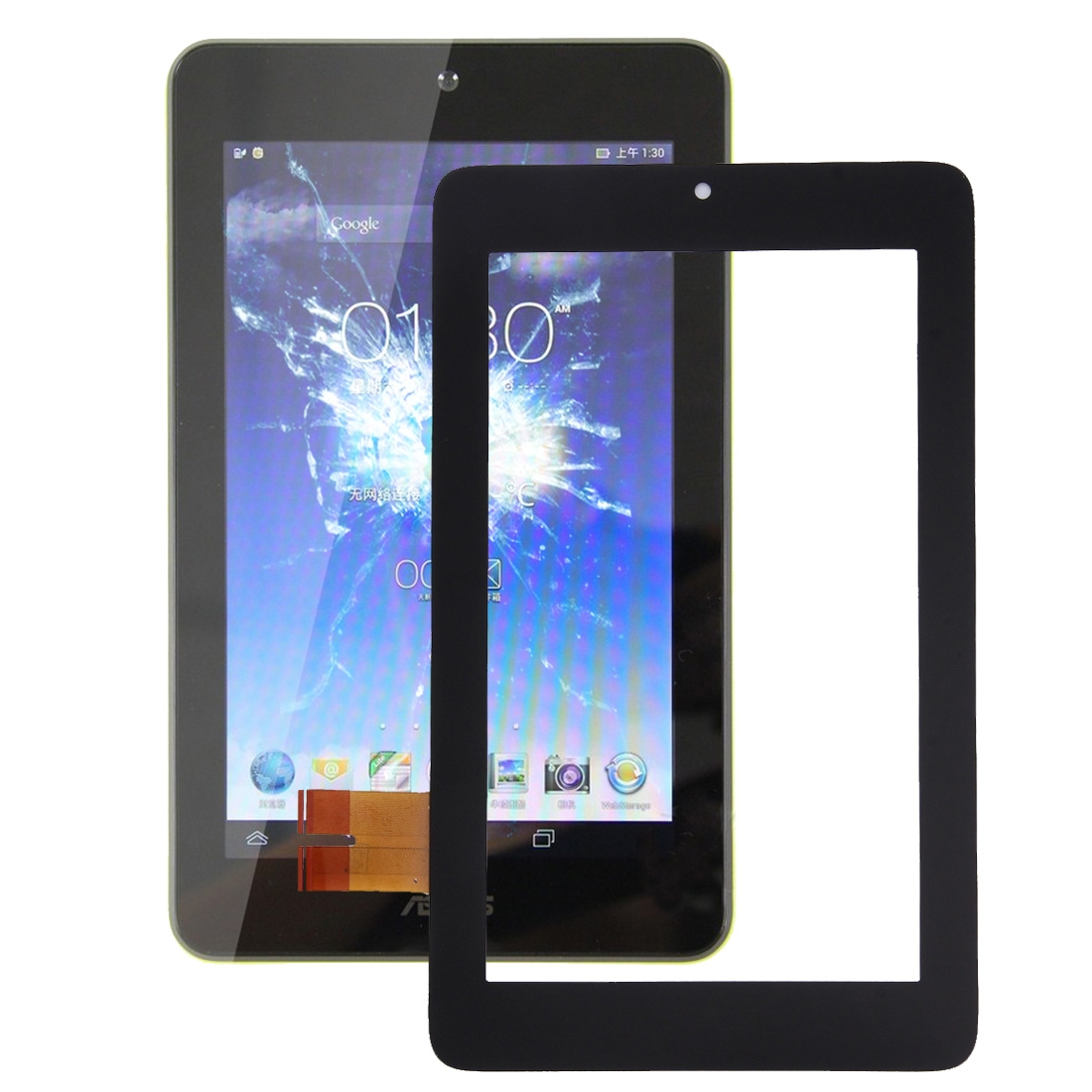 """For Myaudio PowerSD 7/"""" Touch Screen Digitizer Tablet Glass Replacement Panel"""