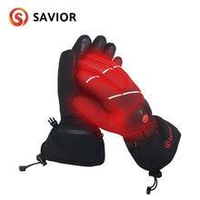 Спаситель аккумуляторная батарея перчатки с подогревом для катания