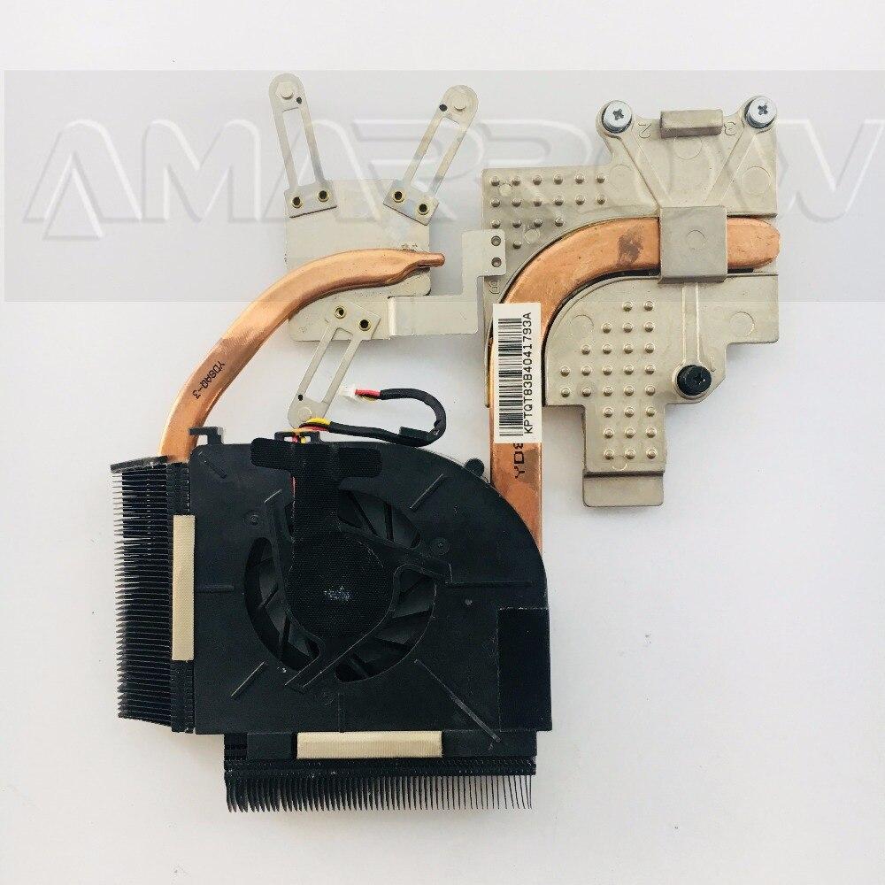 Оригинальные Бесплатная доставка ноутбук радиатора Вентилятор охлаждения процессорного кулера для hp DV5 DV5T DV5-1000 вентилятор радиатора 493001-001