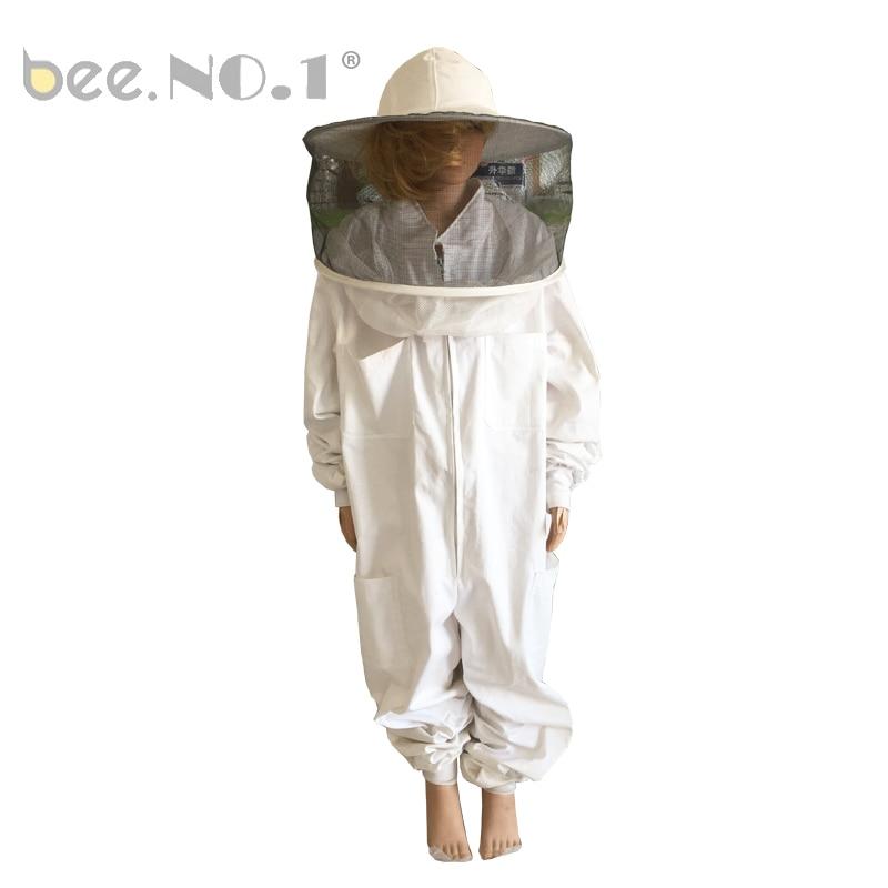 ABEILLE. NO 1 Fournitures D'apiculture Costume Pour Enfants Freesize Adapté De Hauteur 120 cm-150 cm Mini Taille Apiculture Costume Pour Enfants