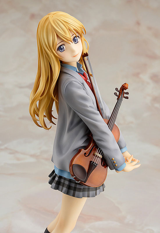 Action & Toy Figures New Comic Amine Gsc Your Lie In April Shigatsu Wa Kimi No Uso Miyazono Kaori Violin Figurine 20cm Figure Toy