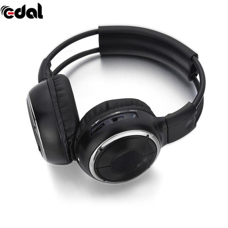 EDAL IR Infrared Headphone Wireless Stereo Car Headphones Headset Dual Channel Earphones New