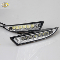Unimaginable Price For VW Volkswagen Scirocco LED DRL LED Daytime Running Light Yellow Turning Function Free