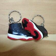 the best attitude 6a90c 1bbfc 3D jordan shoe keychain Plastic key chain Retro Keychains 3D shoes air  jordan AJ1 series keyring