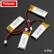 POSTHUMAN High Energy Density 501230 130mAh Bluetooth Headset 3.7V Lithium Polymer Battery Li-polymer Rechargeable Batteries