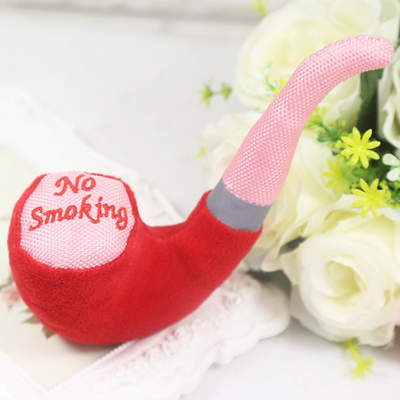 New Cute Pet Toys Color Plush Pipe Dog Toy Dog Sounding Toys Pet Puppy Chew Squeaker Squeaky Plush Sound