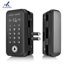 Подходит для множества замков для дверей RFID, блокировка без ключа, Смарт 125 кГц, RFID считыватель карт, дверной замок, хорошее качество, автономный замок