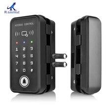 문 rfid 카드 자물쇠의 제비를 위해 적당한 열쇠가없는 자물쇠 똑똑한 125 khz rfid 카드 판독기 자물쇠 좋은 품질 독립 실행 형 자물쇠