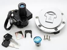цена на FXCNC Motorcycle New Ignition Switch Lock Fuel Gas Cap Lock Key Seat A Set Fit For Honda CBR600 F2 F3 91-98 1997 1992 1993 1994