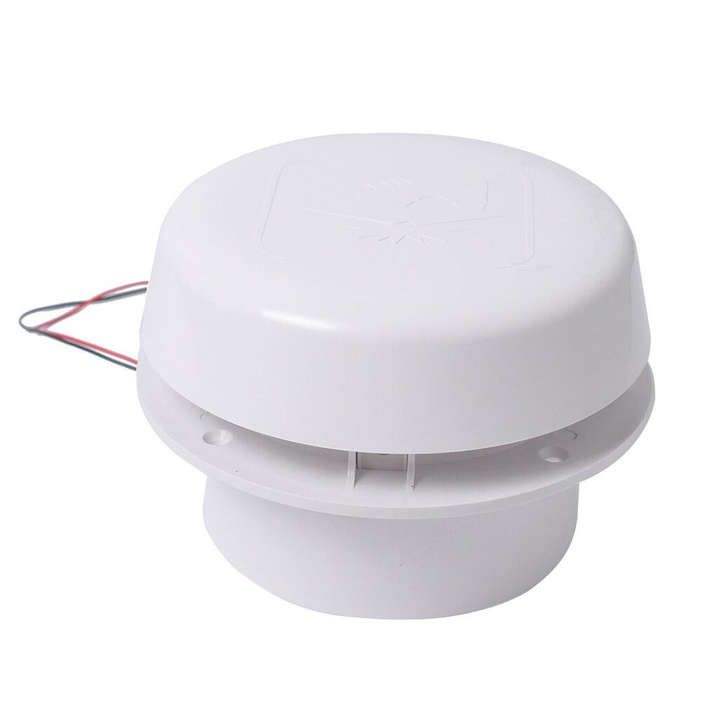 60CFM ABS ventilateur d'échappement facile à installer Ventilation montage au plafond refroidissement efficace toit muet RV camping-car remorque caravane 12 V