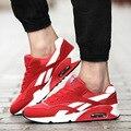 2016 Nuevo Anuncio Otoño Hombres Casual Zapatos cómodos de Los Hombres Del Deporte Zapatos de Los Planos Equilibrio Zapatillas Deportivas hombre Envío Libre