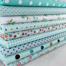 Квадраты шитье текстиль предварительно вырезать очарование горошек декора бытовой одеяло лоскутное