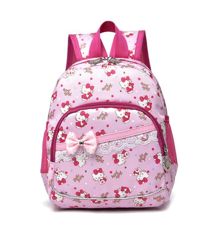 Мультфильм рисунок «Hello Kitty» школьные рюкзаки для девочек Дети сумка детские школьные сумки для детского сада Mochila Escolar рюкзаки