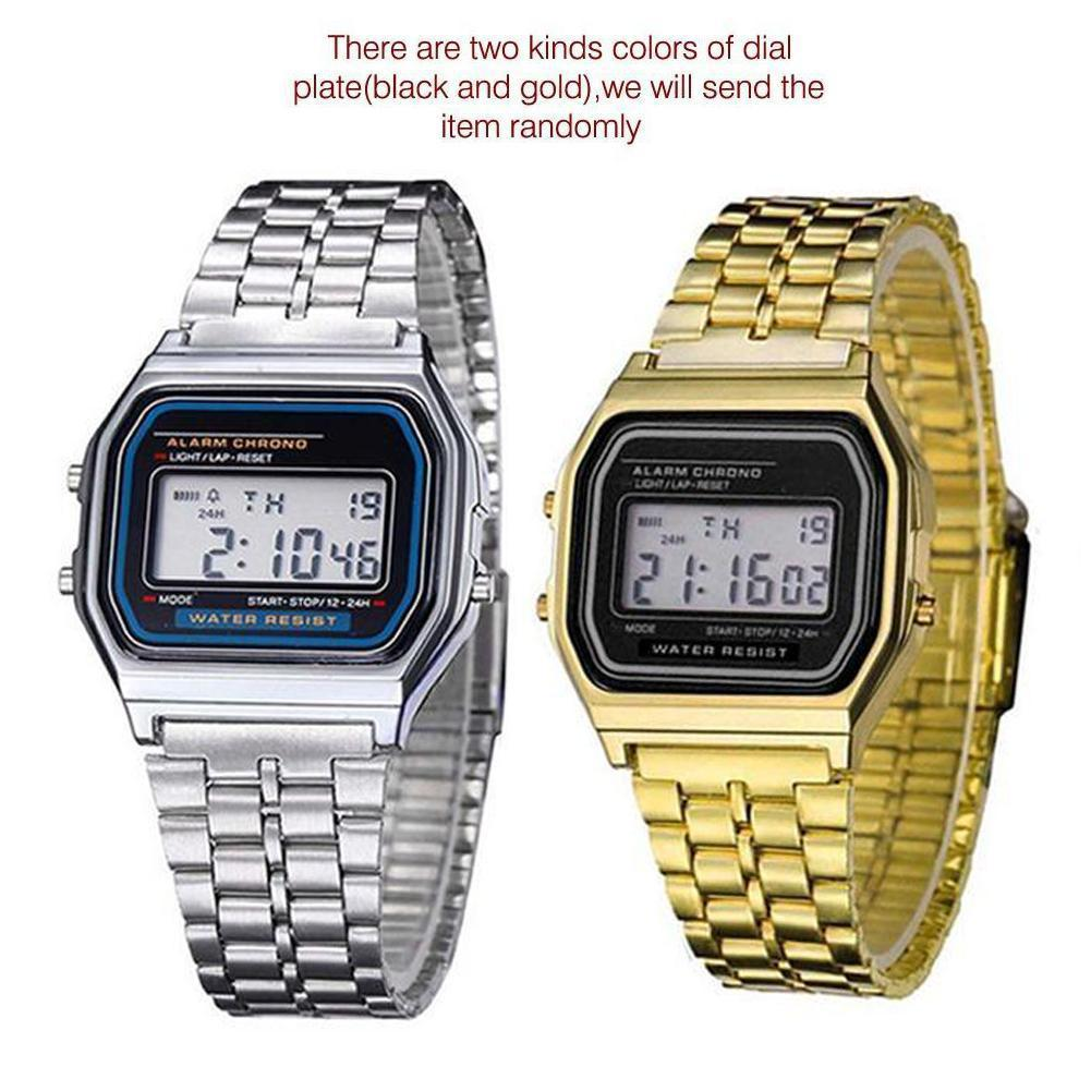Watches Men Business Fashion Casual Watch Stainless Steel Date Women Lover Couple Wristwatches Vintage Clock Love Gift