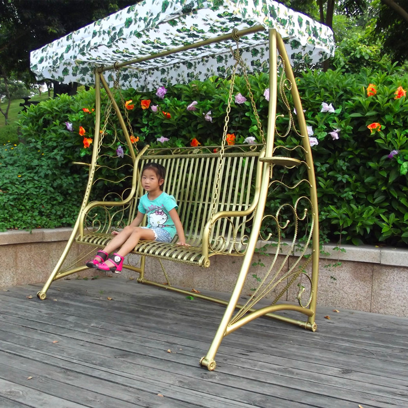 Compare prices on iron swing online shopping buy low - Rocking chair jardin ...