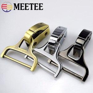 2pcs Meetee Metal Bag Side Clip Buckles for Handbag Strap Belt Clasp Screw Hook Connector Bag Hanger Hardware Accessories F2-14