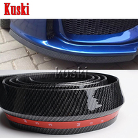 2.5m Car Front Chin Spoiler Stickers For Mitsubishi ASX Lancer 10 9 Outlander Pajero I200 MG 3 ZR Accessories